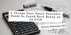 Some business aspects are constantly overlooked and ignored by most small business owners. We list 3 things that all local business will need to finally set separate budgets for this year. One of them is your Business IT. 3 Things, Budgeting, Success, Money, Learning, Business, Blog, Budget Organization, Blogging