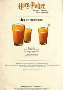 recette jus de citrouille