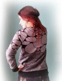 muntaipale - kankaita ja ompeluniloa: Collegepaita twistillä (2/2) Hoodies, Sweaters, Fashion, Moda, Sweatshirts, Fashion Styles, Parka, Sweater, Fashion Illustrations