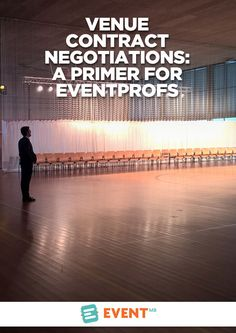 Are you negotiating a venue contract for the first time or need a refresher on getting a better deal? Here's what you need to know.