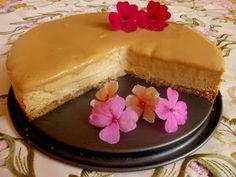 SPLENDID LOW-CARBING BY JENNIFER ELOFF: Pumpkin Cheesecake With Caramel Topping (GF)