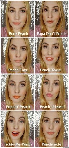 Too Faced Sweet Peach Creamy Peach Oil Lip Gloss review swatches