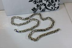 Vintage Halsschmuck - Königskette Halskette 925er Sterlingsilber SK511 - ein Designerstück von Atelier-Regina bei DaWanda