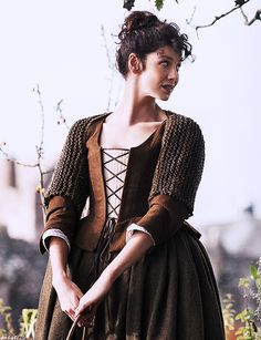 Claire (Caitriona Balfe) from the Outlander series on Starz