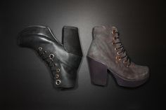 """Chock full of stellar upgrades, The Prepare 2.0 Family is made up of styles that are ready to be adored. A piece of Gear you need this season, this fresh and fun lace-up ankle boot is a platform lover's dream with oversized eyelets and a 4"""" leather wrapped heel. Crafted with love in Portugal, they feature staggered eyelets that give them a cool, cosmic vibe."""