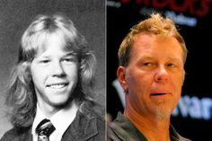 James Hetfield (Metallica) Sexy then, Sexier now!
