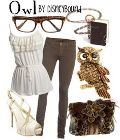 Owl Inspired Outfit by Disneybound