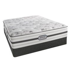 simmons beautyrest beautyrest platinum memory foam standard profile 14   plush innerspring mattress     simmons beautyrest quilt pillowtop futon mattress   indigo  blue      rh   pinterest