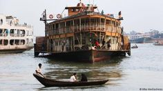 The PS Ostrich trudges through the Buriganga River (Credit: Credit: Mike MacEacheran)