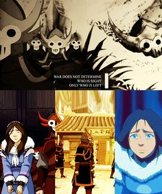 The girl in the bottom left hand corner is actually young Hama. Korra Avatar, Team Avatar, Iroh, Azula, Fire Nation, Legend Of Korra, Avatar The Last Airbender, Best Shows Ever, Best Tv