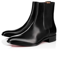 7bd98d4e65b1 CHRISTIAN LOUBOUTIN Aurelien Flat Black Flamenco Fabric - Men Shoes - Christian  Louboutin.  christianlouboutin  shoes