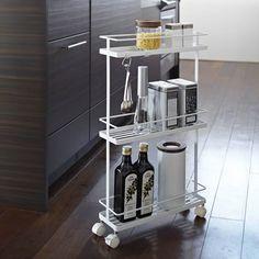 Slimline Kitchen Storage Trolley
