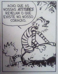 Calvin e Haroldo (Calvin and Hobbes) - Bill Watterson Background Cool, Mafalda Quotes, Words Quotes, Sayings, Bd Comics, Witty Comics, Frases Humor, Sad Love, Best Vibrators