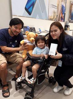 ประทับใจมากครับ  ให้ตุ๊กตาไป เป็นเพื่อนกลับบ้านด้วย #samsngburaphavatcentralchonburi #smartacademyTH #samsung