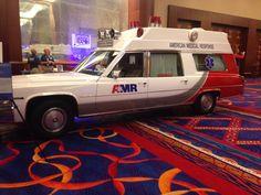 Vintage AMR ambulance. CT EMS Expo May 31, 2014