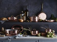 Mauviel Copper Cookware Collection
