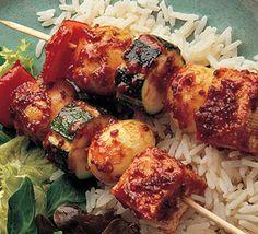 devilled tofu kebabs #EZTofuPress
