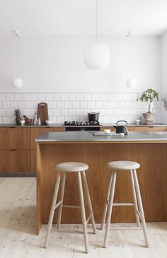 """The Green Kitchen"" For Alt Interiør, Denmark, Oct The green kitchen is made by "". Kitchen Room Design, Kitchen Flooring, Kitchen Decor, Kitchen Remodel, Home Kitchens, Kitchen Interior, Ikea Kitchen Design, Cosy Kitchen, Kitchen Inspirations"