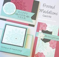 VIDEO: Frosted Medallions Horizontel Center Step Card Tutorial