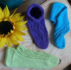 The pattern is tough but once you get it the sock are easy to make.