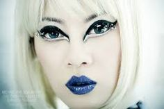 futuristic make up - Google Search