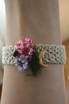 Crochet Necklace, Bracelets, Handmade, Jewelry, Fashion, Moda, Hand Made, Jewlery, Jewerly
