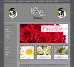 The Rose House at McEwens website Rose House, Sympathy Flowers, Thank You Gifts, Wedding Flowers, Bouquet, Shops, Website, Plants, Shopping