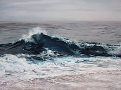 Exploring Climate Change through Art: Giant Pastel Oceanscapes and Icebergs Drawn by Zaria Forman pastel landscapes icebergs Greenland clima...
