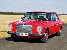 german-cars-after-1945: 1974 Mercedes...