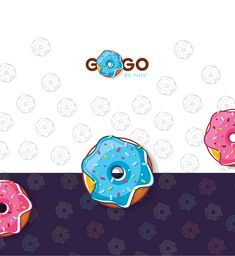 Donuts on Behance