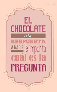 Coincido XD | Chocolate mmm frases palabras amor