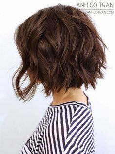 20 Delightful Wavy/Curly Bob Hairstyles for 2016