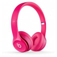 Beats Solo 2 Dr Dre Wired On-Ear Headphone for iPhone / Android / Windows - Pink - New in Retail Package. Pink Headphones, Bluetooth Headphones, Beats Headphones, Over Ear Headphones, Sports Headphones, Beats Solo, Music Beats, Beats Audio, Leica
