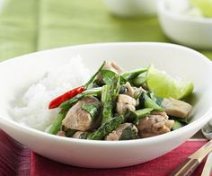 Stir-Fry Special - Thai Chicken with Asparagus and Basil