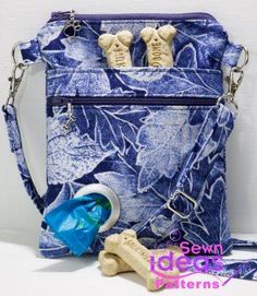 Cross-body Dog Walking Bag – Sew and Sell A PDF Sewing Pattern from Sewn Ideas