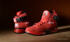Ewing Athletics 33 hi Red footaction-2