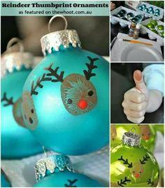Kids christmas ornament
