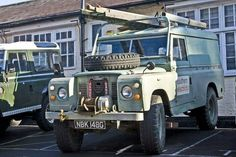 // Land Rover Series 2A 109 One Ton Hard Top 2.6 petrol