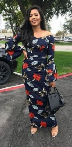 Go Traditional With These Kente Styles - Sisi Couture African Dresses For Women, African Print Dresses, African Attire, African Wear, African Fashion Dresses, African Women, African Prints, Long Ankara Dresses, African Style