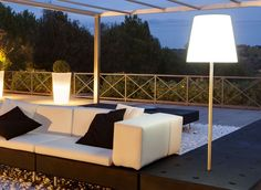 Alibaba by Slide design   An ambient lamp which creates a soft atmosphere in your outdoor spaces. Discover more about the lamp on our online design store >> http://www.malfattistore.it/en/product/alibaba-2/ #malfattistore #shoponline #interiordesign #lamp #outdoorlamp #slidedesign #italianfurniture #madeinitaly #contemporarydesign #lightning
