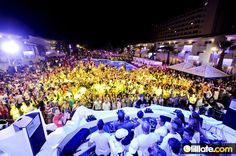"""Superbeach"" at Ushuaia (Ibiza)    One of my favorites parties!!!"