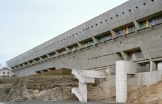 La Maison de la Culture de Firminy, coulisse d'une rénovation ... Après de nombreux éditos consacrés aux oeuvres de Le Corbusier, celui-ci s'attarde sur la