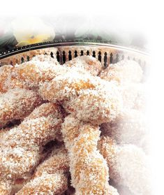 Spiced Coconut Koeksisters - I Love 2 Bake Koeksisters Recipe, South African Recipes, Instant Yeast, Vanilla Essence, Cake Flour, Bread Rolls, Confectionery, Tray Bakes, Baked Goods