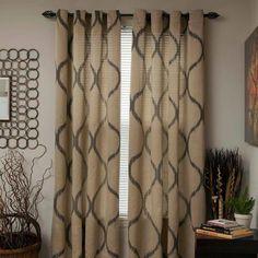 Somerset Home Metallic Window Panel Grommet Curtains, Set of 2 - Walmart.com