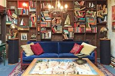 A nautical-themed bedroom, a pair of armadillo lamps, a vintage Gremlins collection and more in this set tour of Master of None's character Arnold Baumheiser. Diy Furniture Upgrade, Nautical Home, Bedroom Themes, Small Spaces, House Design, Living Room, Interior Design, Apartment Therapy, Amy
