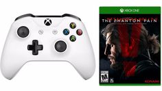 xBox One S White Wireless Controller + Metal Gear Solid V: Phantom Pain Bundle Only $39.99 Shipped - http://www.swaggrabber.com/?p=322357