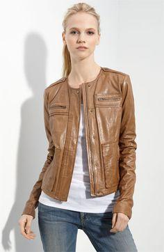 Vince lambskin leather jacket