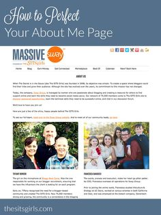 How to Perfect Your About Me Page Business Articles, Business Tips, Online Marketing, Content Marketing, Internet Marketing, Blogging For Beginners, Blogging Ideas, About Me Page, Build A Blog