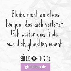 Manchmal muss man einfach neu anfangen. Mehr Sprüche auf: www.girlsheart.de #beziehungsende #beziehung #neuanfang #neustart #glück #glücklich
