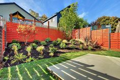 On a #small #budget be #audaciously #loud with your #colors  #small #yard #backyard #homeimprovement #project   #Modern #Landscape #Design #Landscapearchitecture, #landscapedesign & #landscaping @truescapedesign #growingmodern #why #not #dowhatyoulove stay #fresh #Seattle #outdoorliving